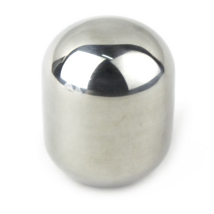Ellipse Shaped 304 Stainless Steel Fast Frozen Ice Block - Silver