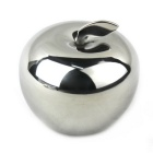 Apple Shaped 304 Stainless Steel Fast Frozen Ice Block - Silver