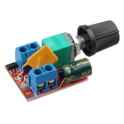 Mini DC 5A Motor PWM Speed Controller - Red + Multicolor