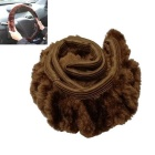 Soft Warm Wool Plush Car Steering Wheel Cover Universal Auto Supplies Car Styling Accessories