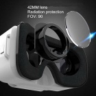 Leji Mini Realidad Virtual 3D Google Glasses - Blanco