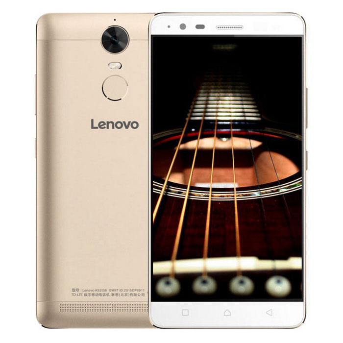 lenovo K5 noter Android 5.1 téléphone w / 3GB RAM, 32GB ROM - or