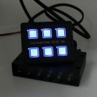 DC12~24V Touch LED Switch Panel for Car Truck Caravan Boat Yacht