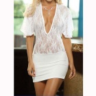 Fashionable Polyester Batwing Sleeve Underwear Dress