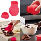 Silicone Chocolate Melt Cup - Red