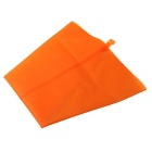 PU Silicone Cake Cookies Cream Pastry Squeezing Bag - Oranje