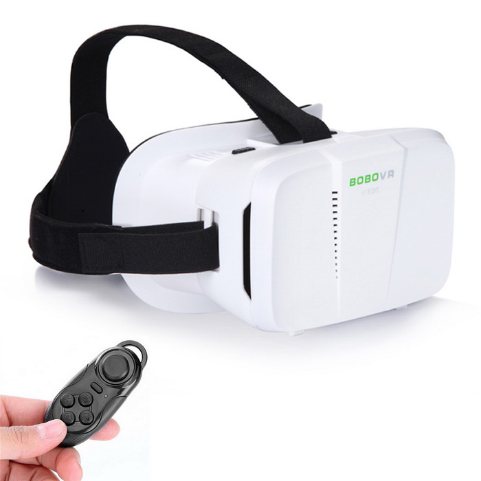 Xiaozhai BOBO VR 3D Óculos Virtual Reality + Mouse Bluetooth - Branco