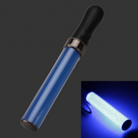 White Light Party Concert Glowing Lighting Stick - Black + Blue