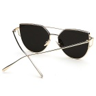 SENLAN UV400 Protection  Fashionable Sunglasses - Gold + Silver