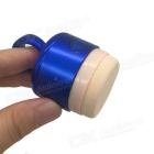 Show Charm 3D Electric Vibrating Makeup Puff Cosmetic Tool - Blue