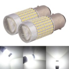 MZ 1157 360 degree LED Car Brake Lights Cool White 3014-144 SMD 12~24V