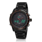 NAVIFORCE NF9024 Men's Analog + Digital Sports Watch - Black
