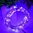 WLXY 5m 3W 50 LED Lâmpada decorativa Cordas Roxo Light (3PCS / DC12V)
