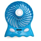 QooK FN001B Aromatherapy Charging Light 2- Mode Silent Fan - Blue