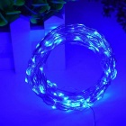 WLXY 5m 3W 50-LED Decorative Lamp Strings Blue Light (3PCS / DC12V)