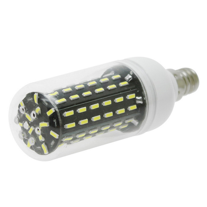 HONSCO E12 8W 96-4014 SMD LED Cold White Corn Bulb Light (AC 110V)