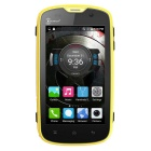 "Kenxinda W5 IP68 4.0"" WVGA Android 5.1 LTE 4G Smart Phone - Yellow"