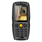 Kenxinda W3 IP68 2.2inch QCIF TFT Screen GSM Feature Phone - Gray