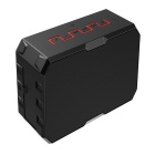 F5 Outdoor Waterproof Dustproof Stereo Bluetooth Speaker - Red + Black