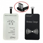 Type-C 5V Qi Wireless Charger Receiver - Silver