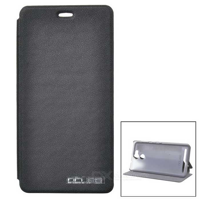 OCUBE Protective Flip Open PU Case for ulefone power - Black