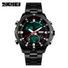 SKMEI 1146 30m Waterproof Multifunction Sports Watch - Black