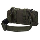 CTSmart Outdoor Multifunctional Daypack w/ Straps - Army Green