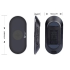 Itian A7 5W Wireless Charger for Mobile Phone - Black