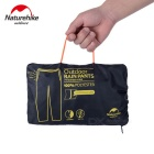 NatureHike Outdoor Waterproof Breathable impermeável calças - preto (m)