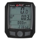 "Bicycle Cycling Speedmeter Odometer w/ Imported Sensors / 1.7"" LCD Backlit"
