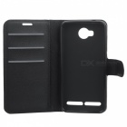 Lichee Pattern Protective Case for HUAWEI Y3 II / Y311 - Black