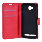 Lichee Pattern Protective Case for HUAWEI Y3 II / Y311 - Red
