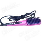 Show Charm LCD Anion Electric Hair Straightener Comb Anti-Scald Tool