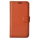 Retro Style Flip-Open PU Case for HUAWEI Honor 5C - Brown
