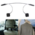 ZIQIAO Car Stainless Steel Suits Hanger - Silver + Black