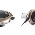 Car Wireless FM Transmitter Radio Car Kit - Golden