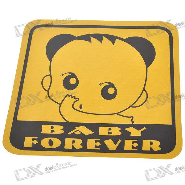 Light Reflective Baby Forever Stickers - Style Assorted (4-Pack) парафин oneball x wax 5 pack assorted