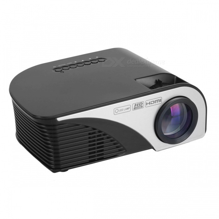 Portable 1080p hd led lcd projector home theater w hdmi for Pocket hd projector 1080p