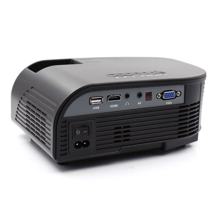 Portable 1080p hd led lcd projector home theater w hdmi for Portable lcd projector reviews