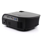 Portable 1080P HD LED LCD Projector Home Theater w/ HDMI - Black