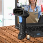 BW3 Bluetooth Wireless Barcode Scanner - Black