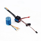 OCDAY 3650 1/10 4370KV Slot Sensorless Brushless Motor - Blue