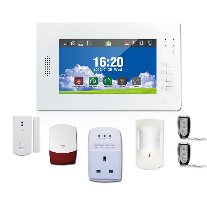 APP Remote Control GSM PSTN Wireless Home Security Alarm System Kits
