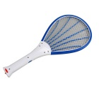 Rechargeable LED Lamp Multifunctional Mosquito Swatter - Blue
