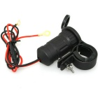 DC 12~24V 2.1A Motorcycle Waterproof USB Phone Charger + 60cm Cable