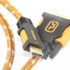 Ourspop OP-HC03 HDMI e 24 + 1pin DVI HD Converter Cable - Orange (1m)