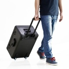 Portátil de alumínio transportando Hard Trolley Case para DJI Phantom 4 - preto