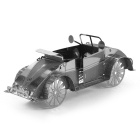 DIY 3D Puzzle Assembled Model Toy Beetle ATV - Silver