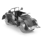 DIY 3D Puzzle montado Model Toy Beetle ATV - Prata