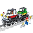 Children's Early Education Puzzle Urban Rail Train Model Toy